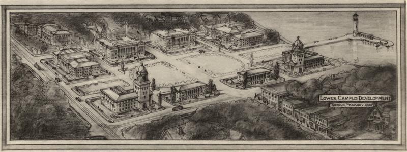 Lower campus development
