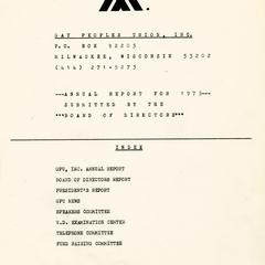 Annual report for 1975