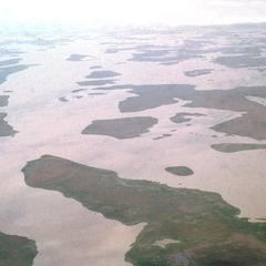 Aerial View of Flooded Region