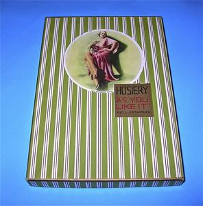 "Hosiery ""As You Like It"" box"