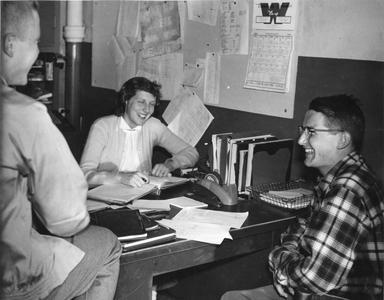Hoofers office in Memorial Union
