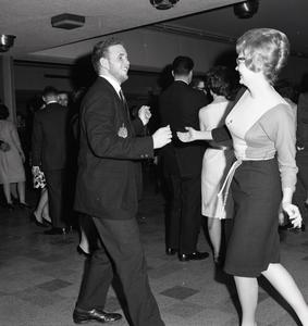 Couple dancing at the Sno Ball