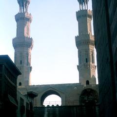 Minarets above Bab Zuwayla Gate