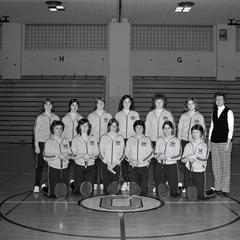 Women's badminton team