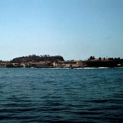 View of the Island of Gorée