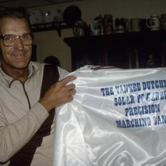 Will Eske with Yankee Dutchmen Band jacket