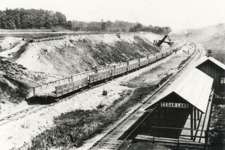 Cedar Lake Train Depot 1891