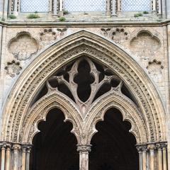 Ely Cathedral exterior Galilee Porch