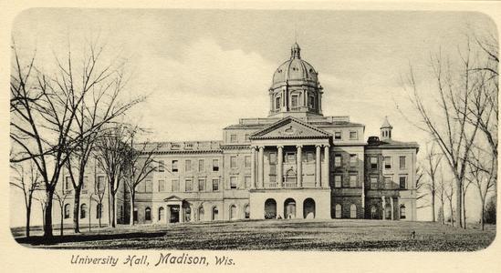 Bascom Hall, ca. 1899-1906