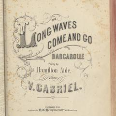 Long waves come and go