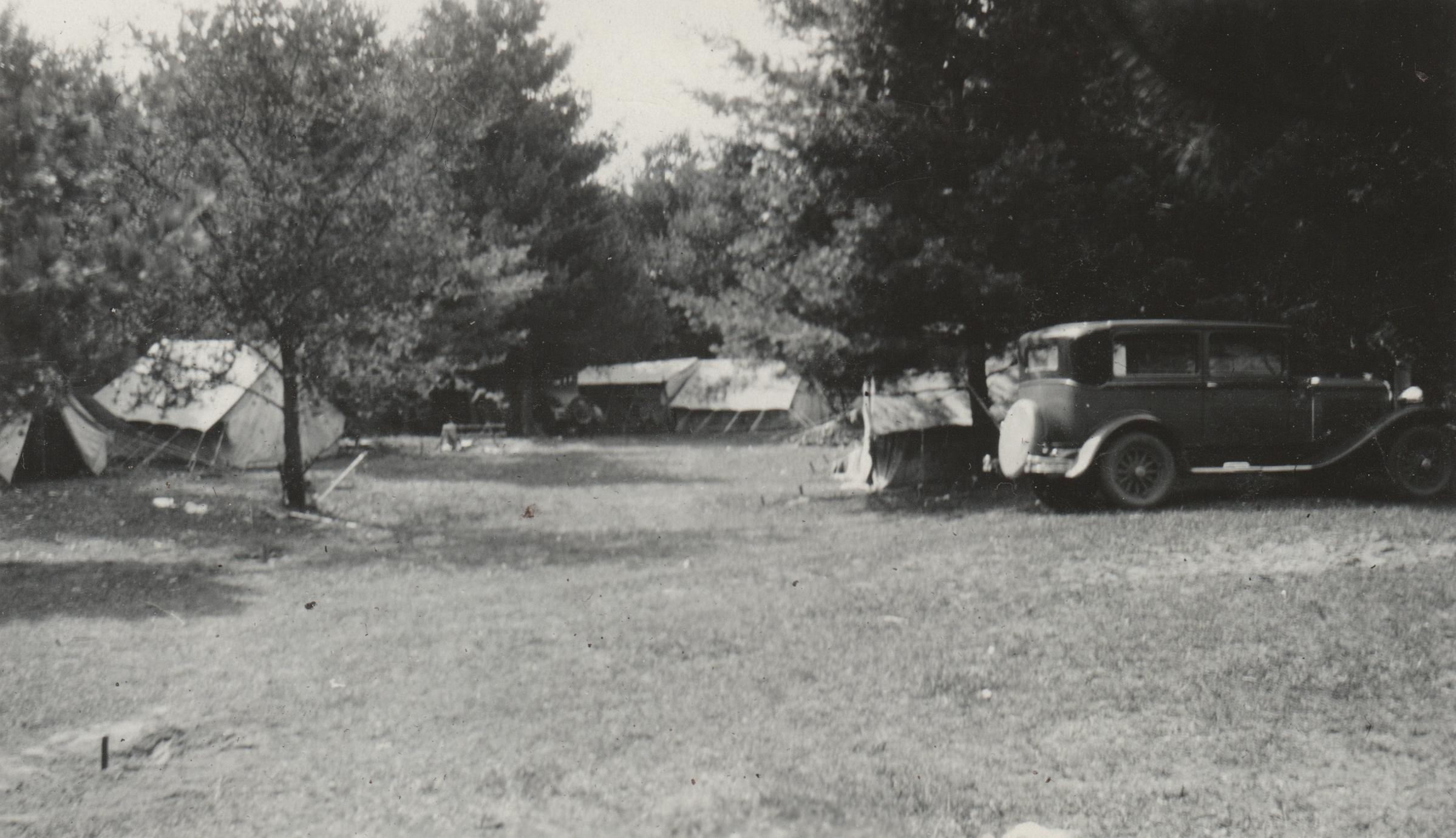 Camp on Devil's Lake in Burnett County