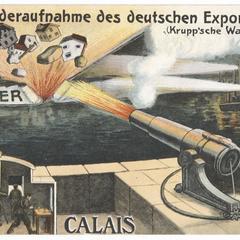 Wiederaufnahme des deutschen Exports : Calais - Dover