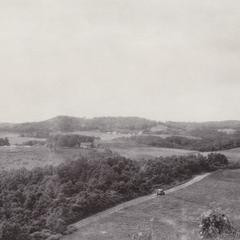 St. Lawrence hills near Melrose