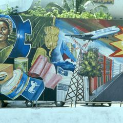 Political Sign with Portrait of Siad Barre and Historical Heroes, Part 2