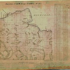 [Public Land Survey System map: Wisconsin Township 38 North, Range 20 East]