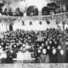 Christian members of the 2nd Church of Canton  廣州.