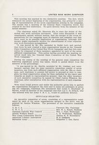 Page 8 - United War Work Campaign as conducted in Wisconsin