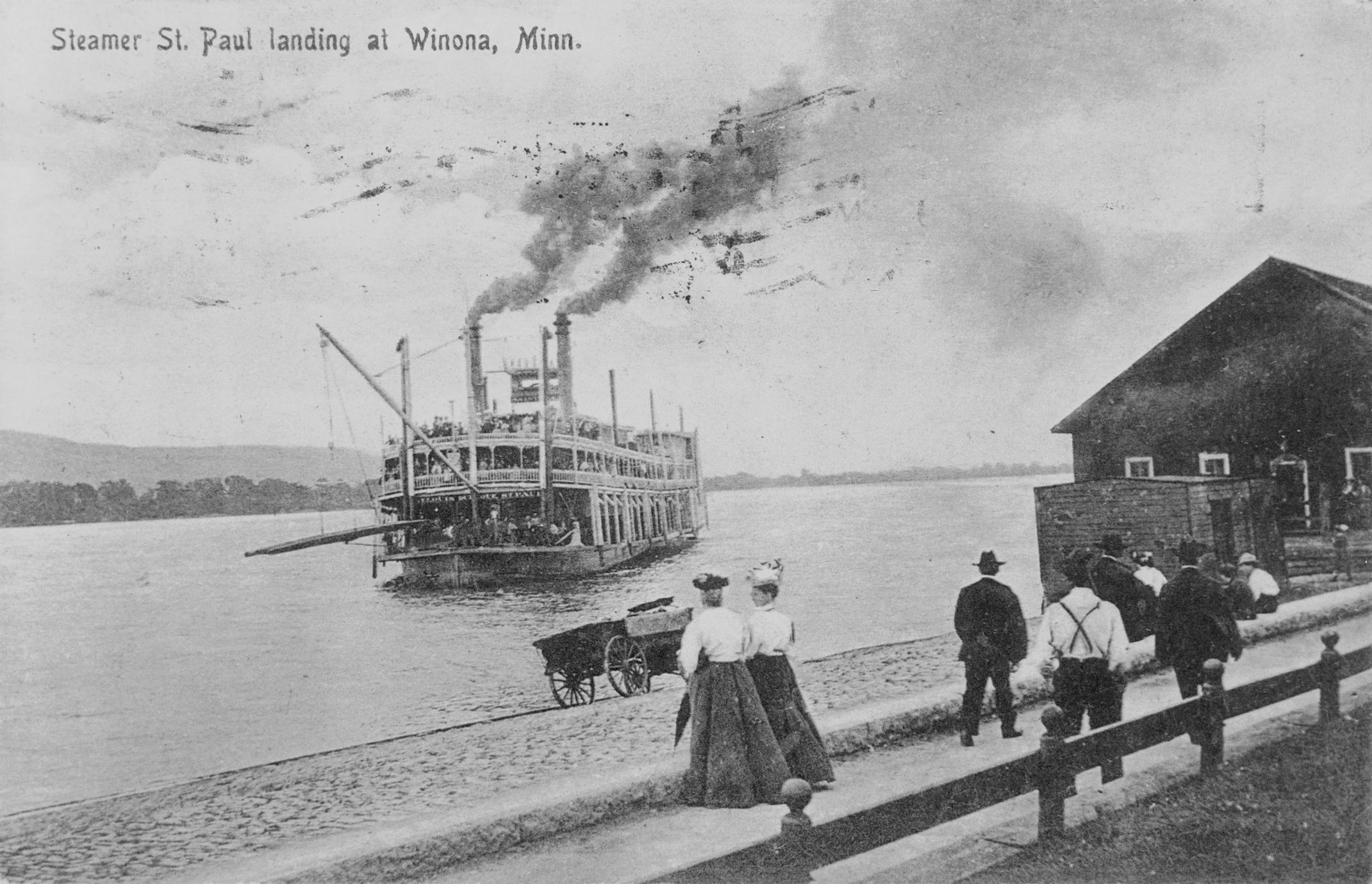 Saint Paul (Packet/Excursion boat, 1883-1940)