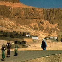 Desert Village in Upper Egypt