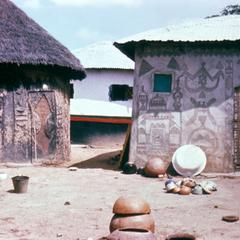 Pottery and Wall Decoration in a Village near Bida