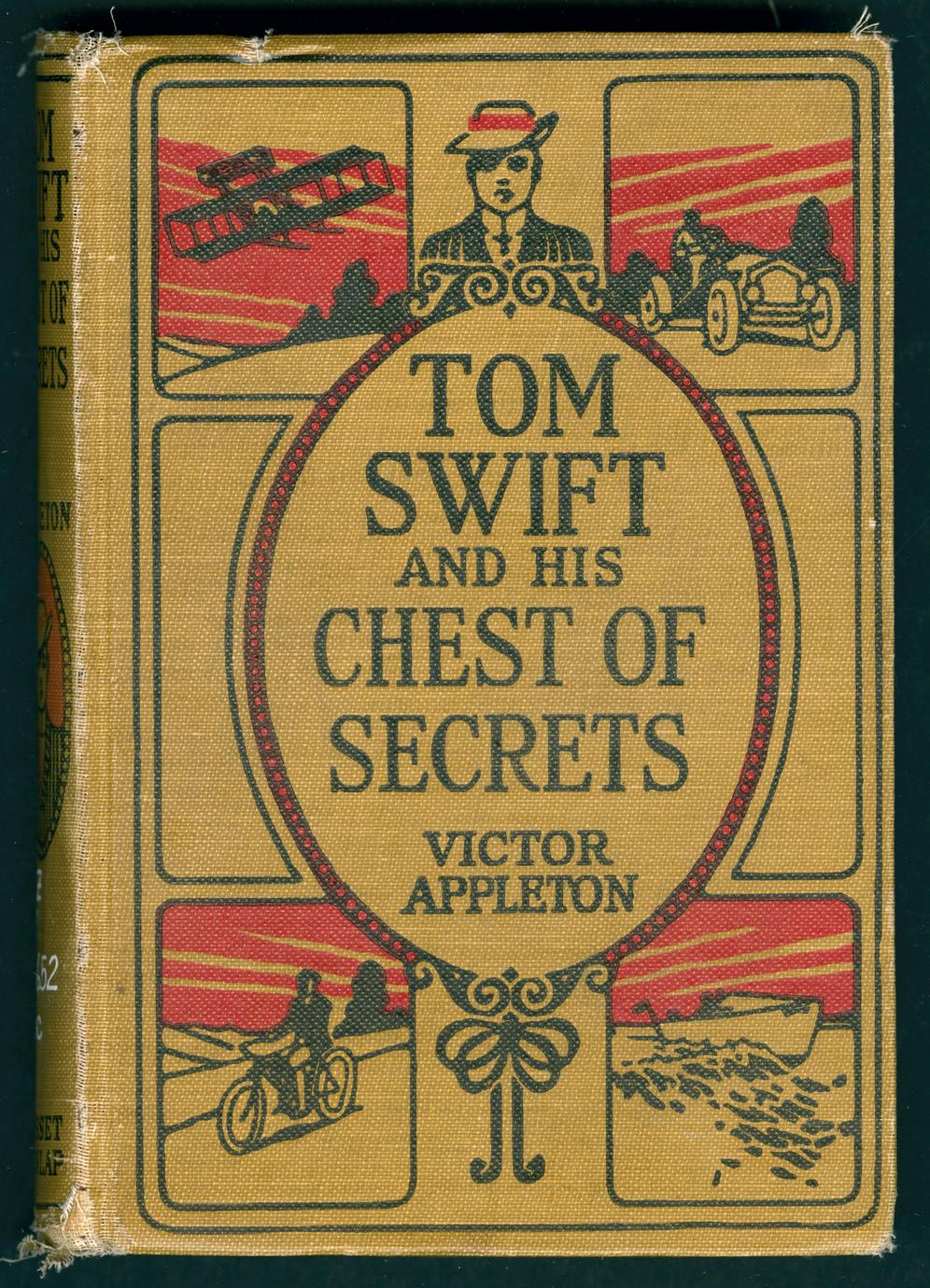 Tom Swift and his chest of secrets (1 of 2)