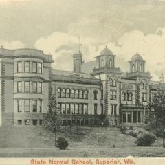 Postcard of State Normal School