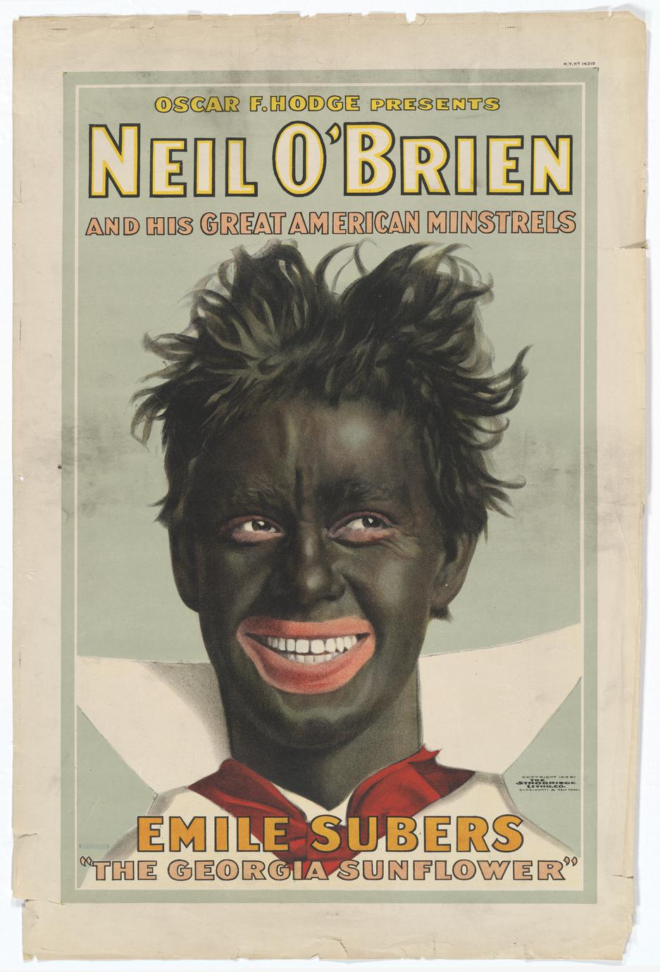 Neil O'Brien and his Great American Minstrels