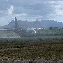 Air America Fairchild C-123 cargo plane