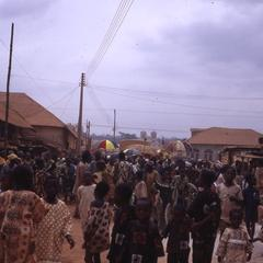 Crowd in Iwude