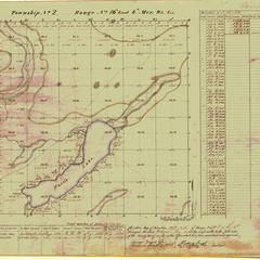 [Public Land Survey System map: Wisconsin Township 02 North, Range 16 East]