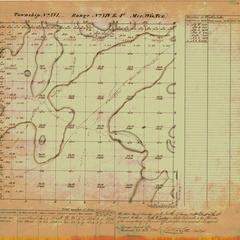[Public Land Survey System map: Wisconsin Township 16 North, Range 14 East]
