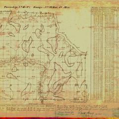 [Public Land Survey System map: Wisconsin Township 31 North, Range 22 East]