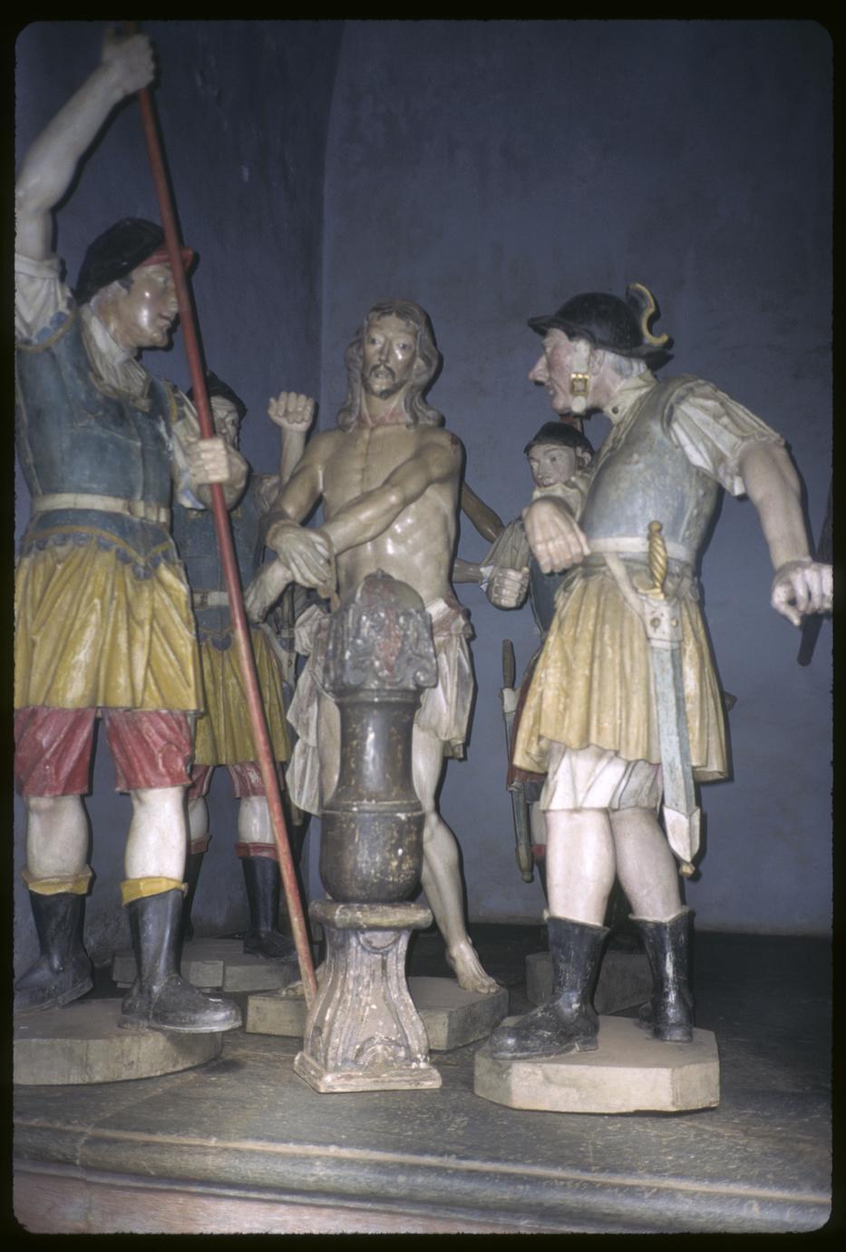 Sculptural group by Aleijandinho, interior Congonhas Basilica (1 of 3)