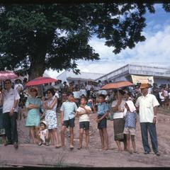 Boat races : spectators