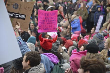 Fuck Trump, Black Lives Matter, Resist