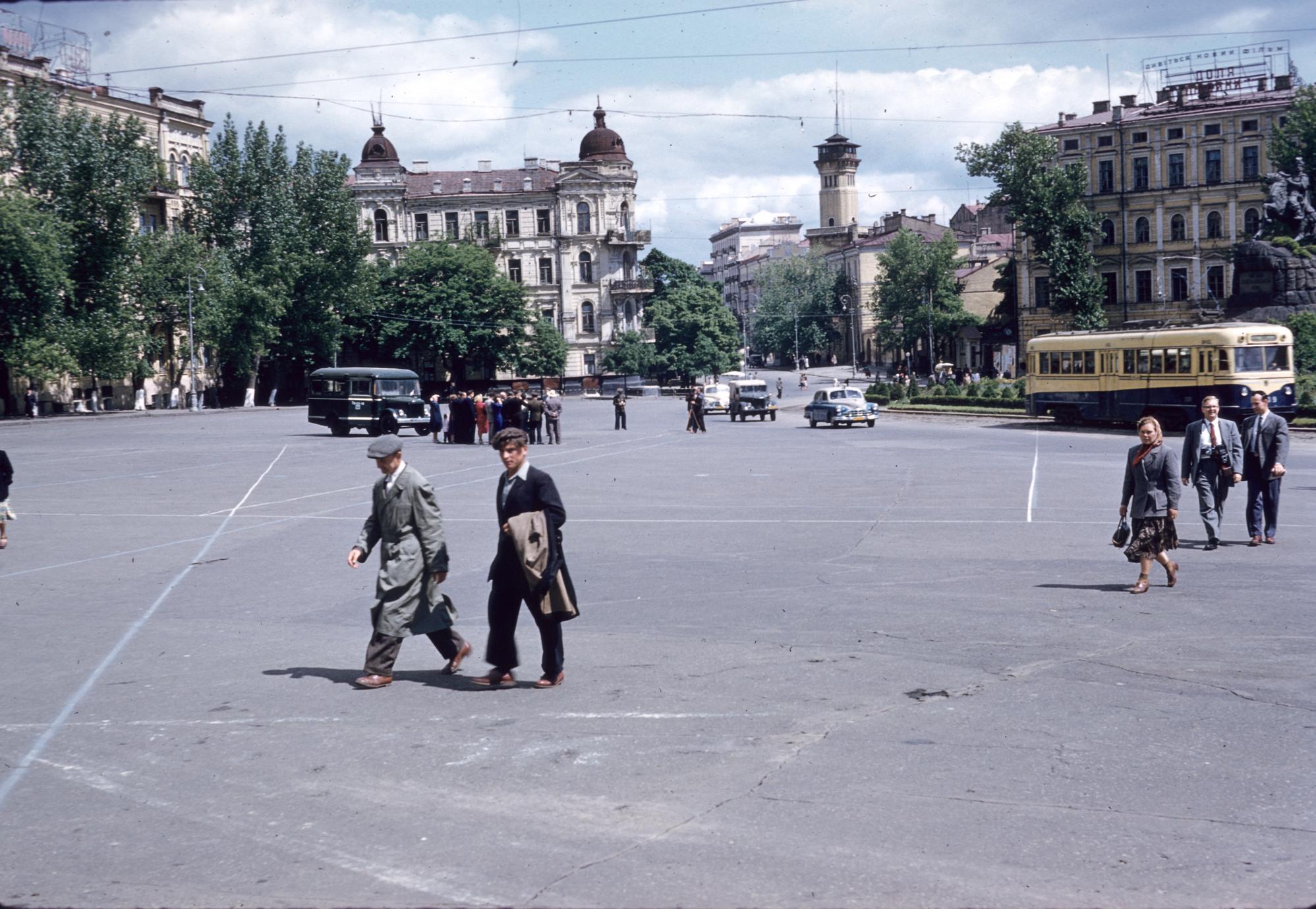 Kiev city square