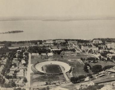 Aerial view of Camp Randall