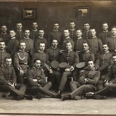 Die alte Mannschaft unserer Komp. 1913