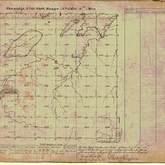 [Public Land Survey System map: Wisconsin Township 11 North, Range 05 East]