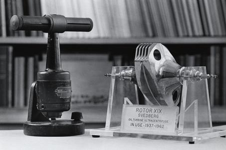 Svedberg's ultracentrifuge