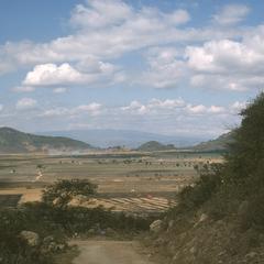 View of Laguna Retana from pass