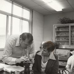 Barrett P. Scherff and student