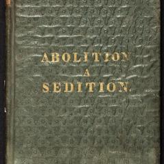 Abolition a sedition