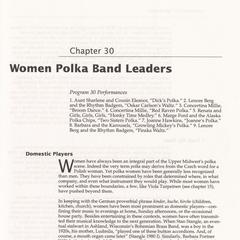 Women polka band leaders