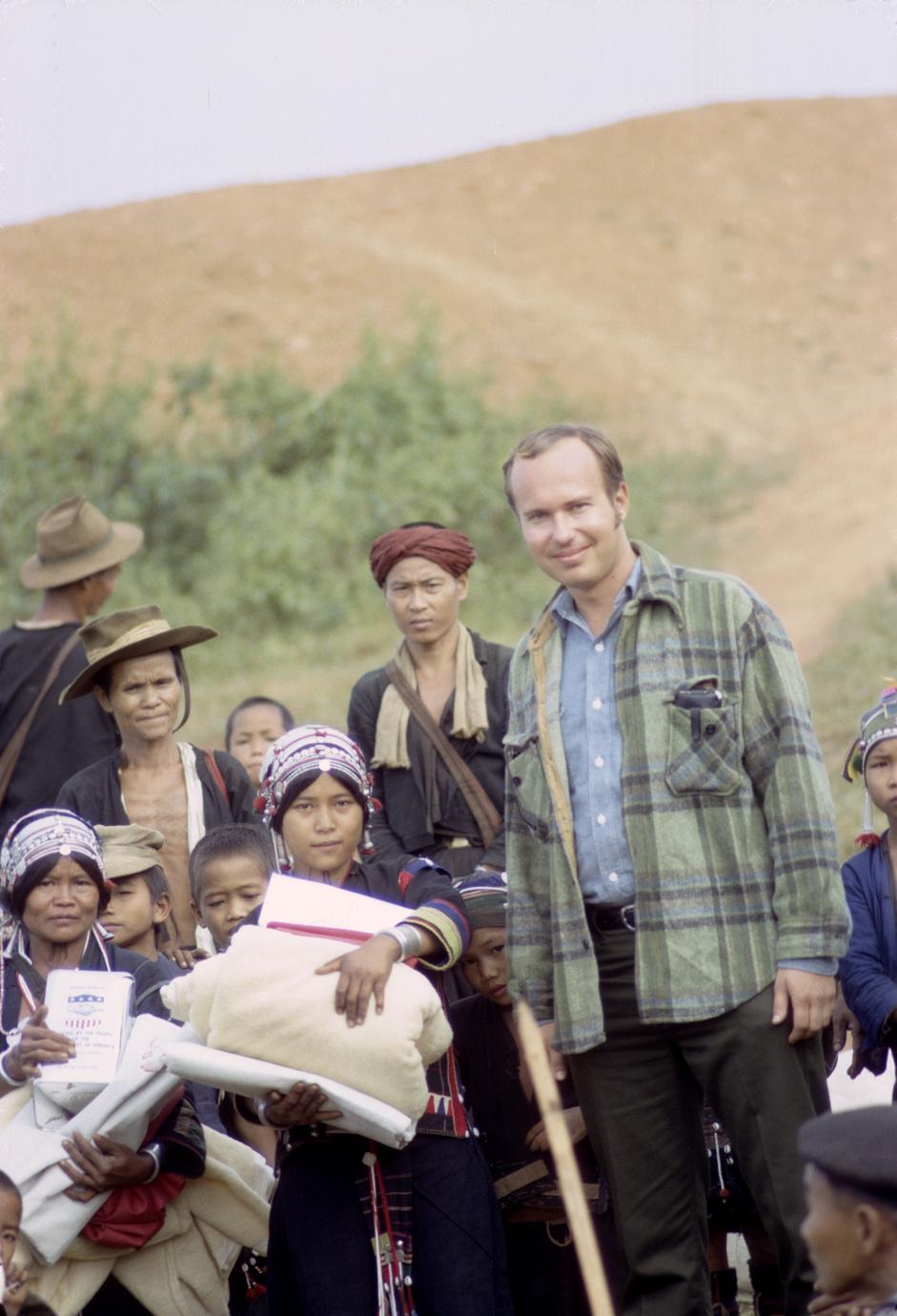 Akha refugees