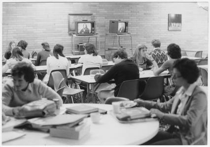 Students study at UW Marathon