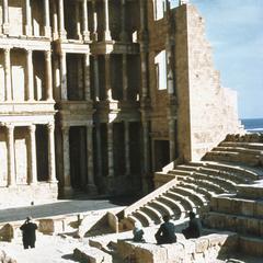 Ancient Roman Ruins Near Sabrata