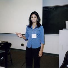 Hima Reddy at the 2005 American Multicultural Student Leadership Conference