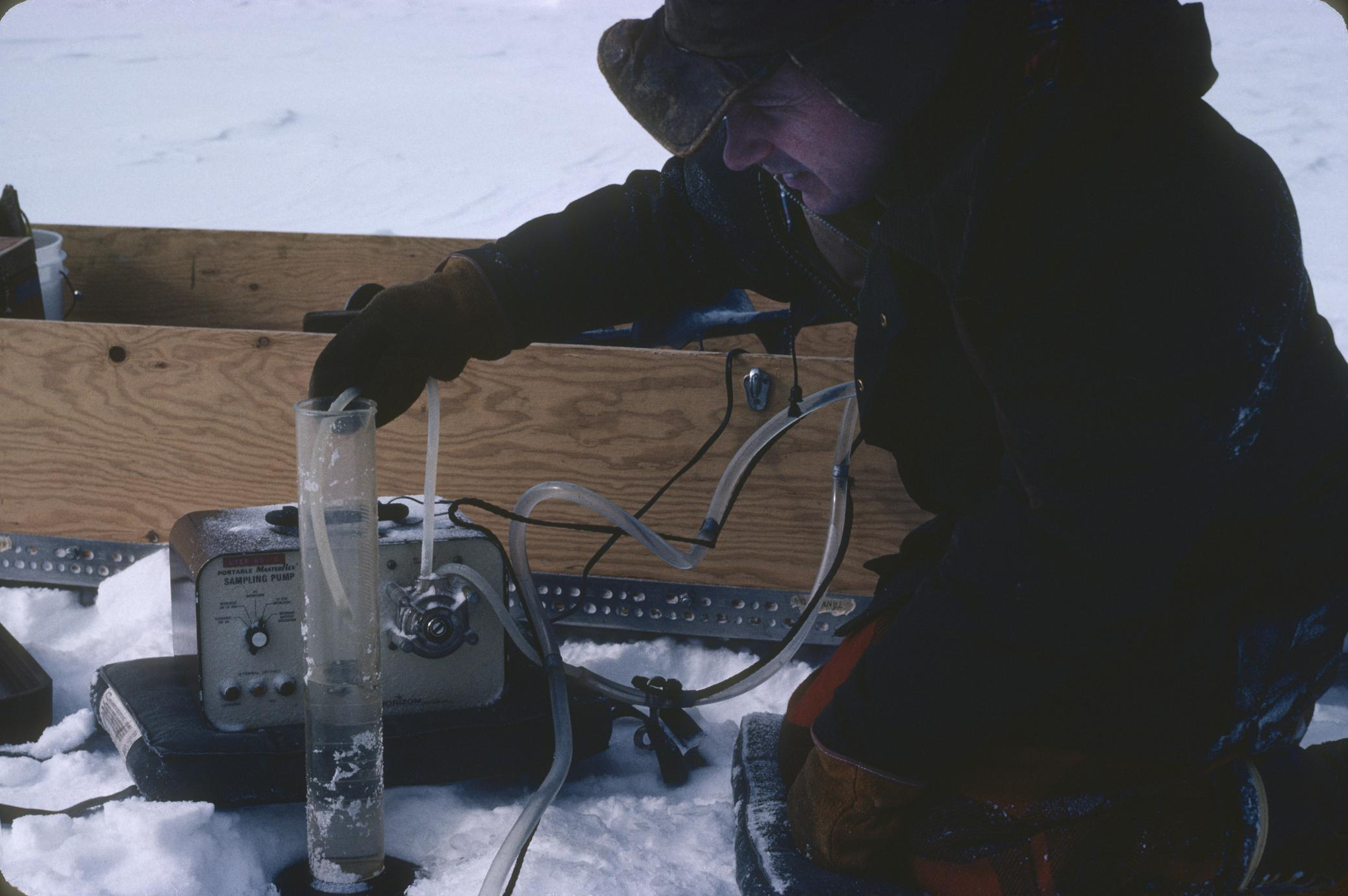 Water sampling North Temperate Lakes Long Term Ecological Research (LTER) (8)