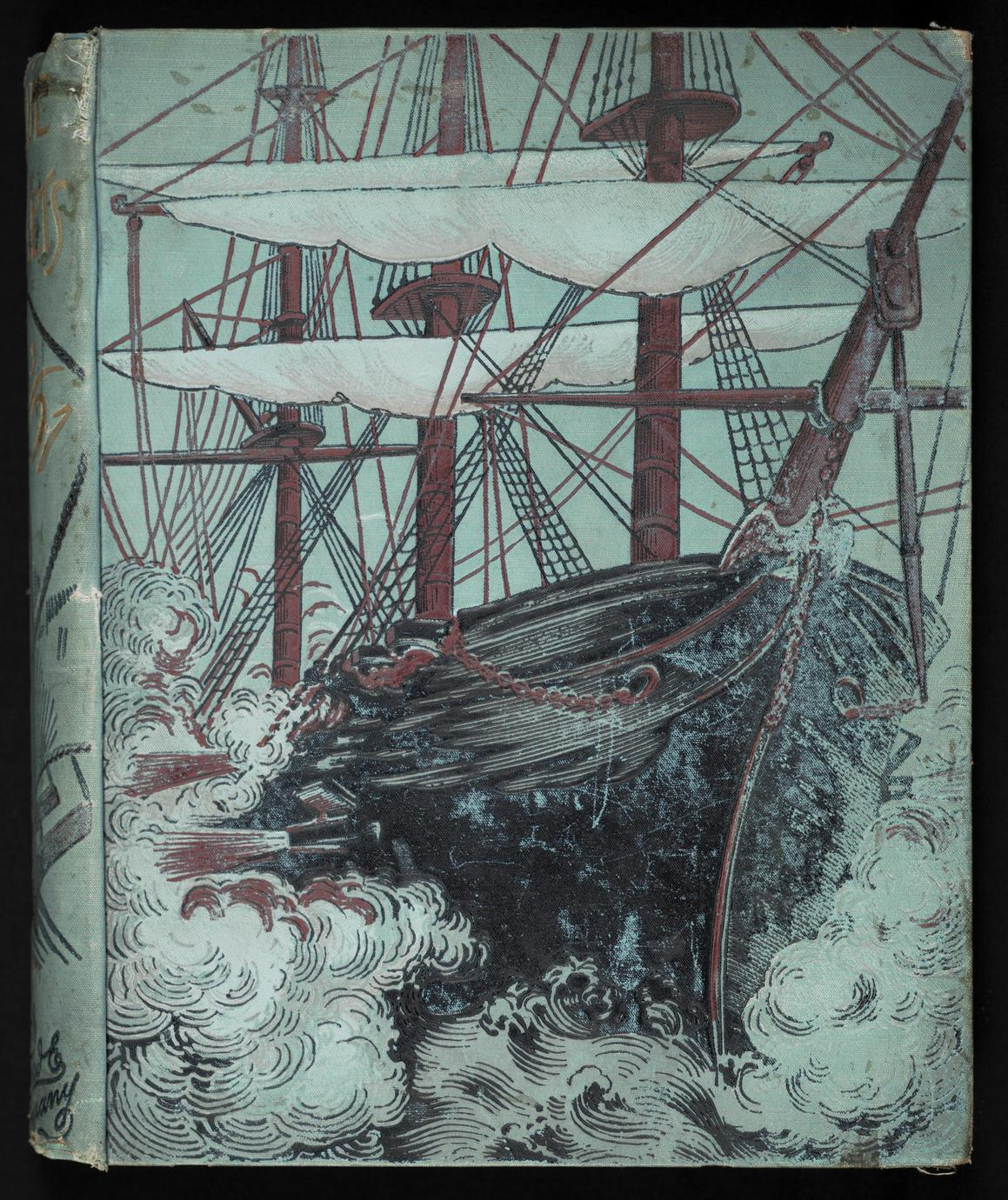 Blue jackets of '61 : a history of the navy in the war of secession (1 of 2)